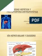 Enfermedad Hepática y Protoporfiria Eritropoyética