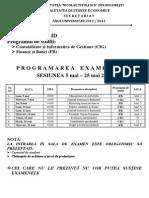 Programare Examene an 3 ID Sem 2 2013 2014