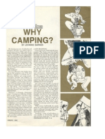 Why Camping - By Johnnie Barnes