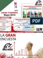 20140530 Evagob Gran Encuesta