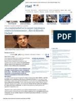 «La Maternidad Es La Mejor Resistencia Contra La Tecnocracia», Dice El Filósofo Hadjad - ReL