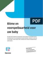 Ritme en Voorspelbaarheid Voor Uw Baby