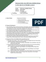 Contoh RPP Matematika Kelas 7
