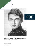 thermodynamik skript