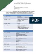 Agenda Encuentro Bogotá