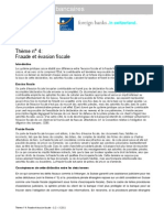 Theme 4 Fraude Et Evasion Fiscale