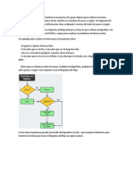 Los diagramas de flujo representan la secuencia o los pasos lógicos para realizar una tarea mediante unos símbolos.docx