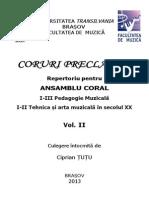 Ansamblu Coral Vol II - Beldeanu Laurentiu