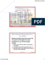 RC2 Lecture 3.2 - Direct Design Method