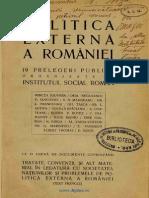 19 Prelegeri-Politica Externa a Romaniei