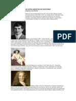 Os de Homens Mais Inteligentes Da História