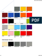 Humbrol Colour Chart