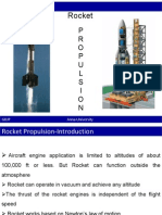 various rocket propellants and their characterstics