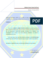 Pre Rrequisitos - Modelo Director, Pastor y Regional