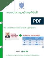 eshop4golf - ecommerce and revenue generating program