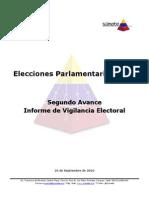 20100925-2do Avance Informe Vigilancia Electoral 26S
