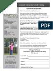 Golf Outing Sponsorship Registration