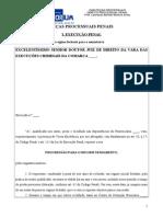 Praetorium OAB Segunda Fase Modelos Execução Penal