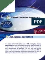 Lista de Control de Acceso(ACL)