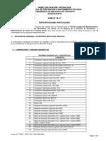 Anexo B1 Especificaciones Particulares 2007 2008 2009