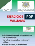 Ejercicios de Williams