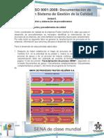 Actividad de Aprendizaje Unidad 3-Caracterizacion y Procedimientos de Calidad