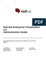 Red Hat Enterprise Virtualization 3.3 Administration Guide en US