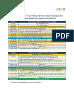 Programme Jisco'2014
