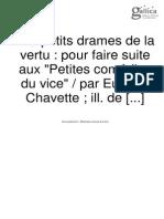 Chavette - Les Petits Drames de La Vertu