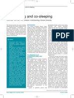 Bed Sharing and Co Sleeping Article