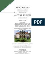 Auktionskatalog 163