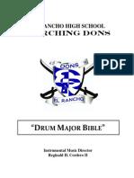 drum major handbook