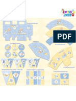 Kit Imprimible Baby Shower Nino