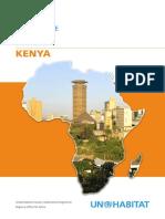UN-Habitat Country Programme Document - Kenya