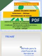 1.0.- Curso de TRIAGE