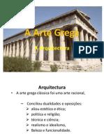 A Arte Grega Inicio