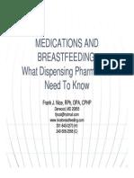 Medications and Breastfeeding