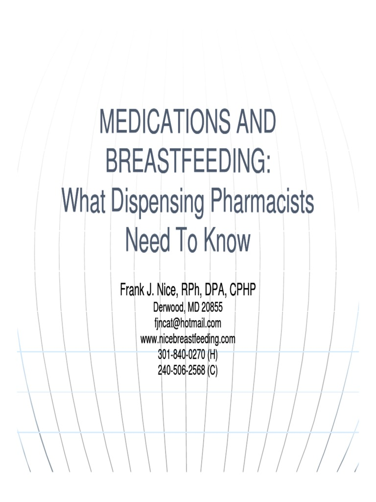 What are sedatives when breastfeeding