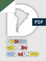 """Catalogo muestra """"Design del Fin del Mundo"""", Milan, Italia"""