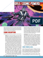 Mutants & Masterminds 3e - Power Profile - Cosmic Powers.pdf