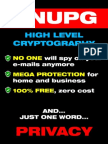 Gnupg High Level Cryptography1 (1)