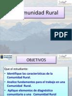 1.- Clase Comunidad Rural 2012