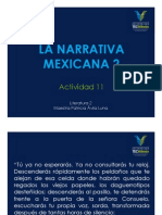 Narrativa mexicana 2
