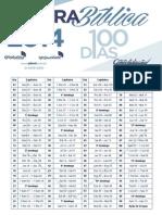 Plano de Leitura 100 Dias