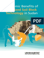 Economic Benefits of Stabilized Soil Block Technology in Sudan