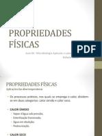 Aula 04 PropriedadesFísicas REVISÃO