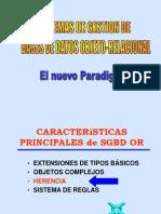 Clase BD (25) Objeto Relacional