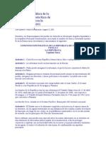 Constitución Política de La República de Costa Rica de 1949
