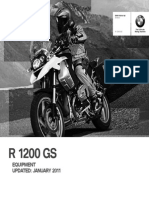 BMW GS1200 Accessories Brochure