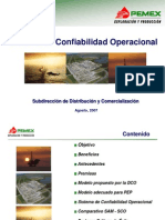 Confiabilidad Operacional de PEP
